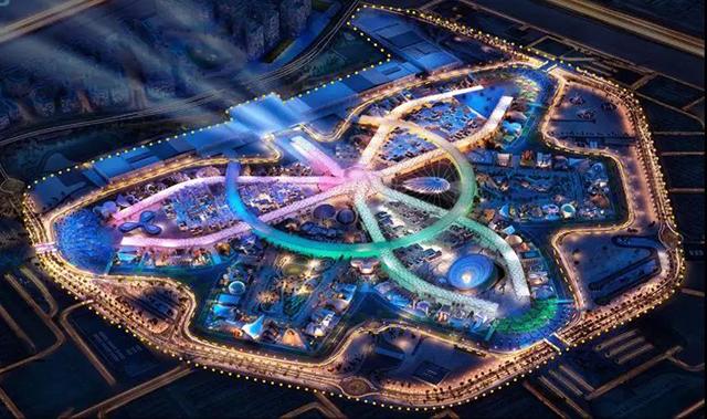 迪拜酒店规划平面图